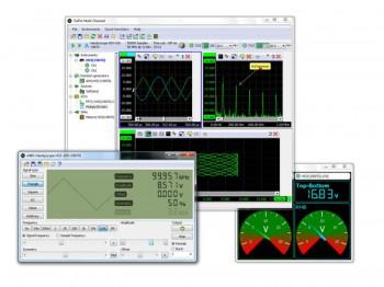TiePie Multi Channel oscilloscope software